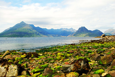 The Cuillin Hills on Isle of Skye