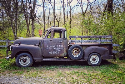 Antique Truck, Reedyville, Tennessee