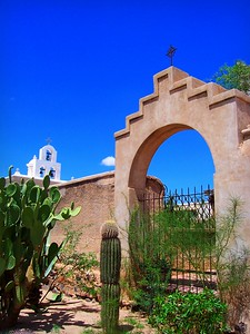 Mission San Xavier, White Dove of the Desert