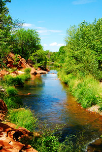 Oak Creek near Sedona, Arizona