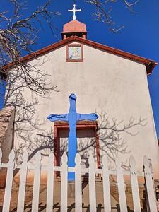 La Iglesia y Cementerio de Nuestra Señora de la Luz, Old Las Vegas Road, Santa Fe, New Mexico