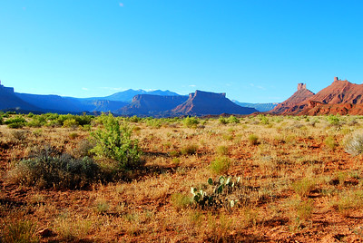 Beautiful Utah along Route 128