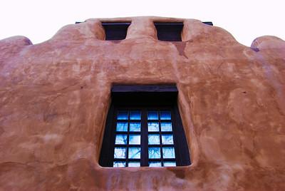 A Weeping Wall - Santa Fe