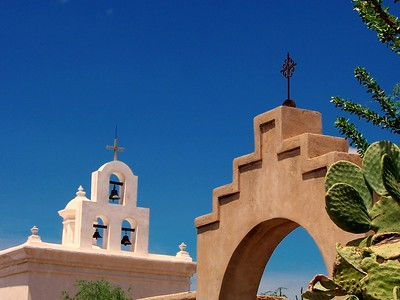 San Xavier del Bac mission near Tucson, Arizona