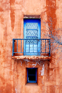 Top Floor Door, New Mexico School for the Arts. Santa Fe