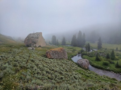 North Tongue River along the Tongue River Trail, Bighorn National Forest, Wyoming