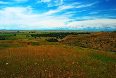 Deep Ravine Vista, Little Bighorn