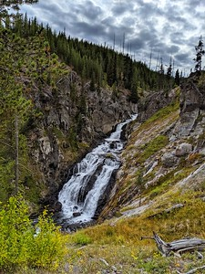 Majestic Falls, Yellowstone National Park