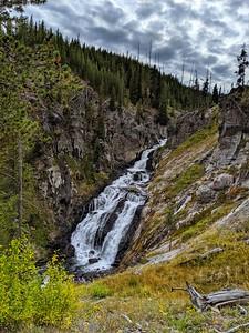 Majestic Falls, Yellowstone National Park