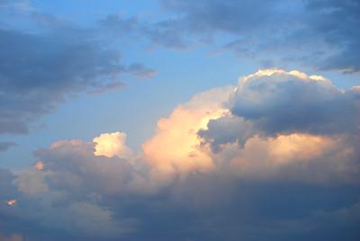 Monet Clouds over Casper