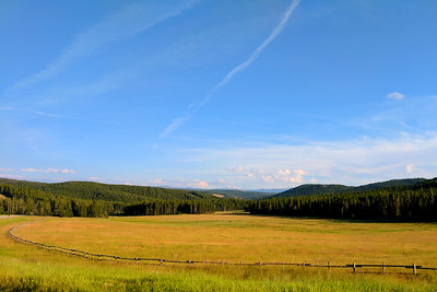 Bighorn National Forest, Sweeping Curve, Route 14