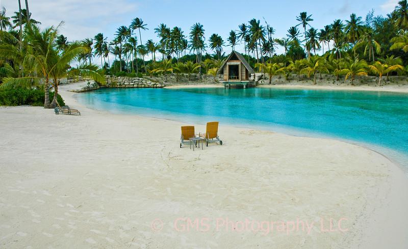Beach At Bora Bora