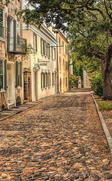 Gillon Street In Charleston