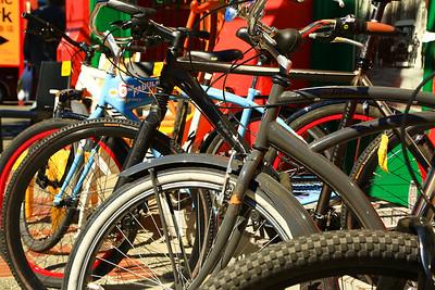 Bike Parking in Chinatown
