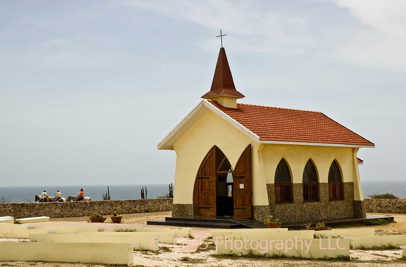 Alto Vista Chapel on northwest coast of Aruba.