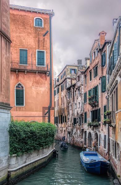 Along The Venice Canal