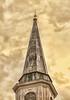 Aging Church Steeple
