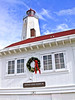Sandy Hook Lighthouse At Christmas