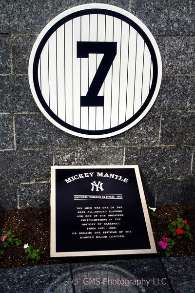 Yankees No.7 Monument Park