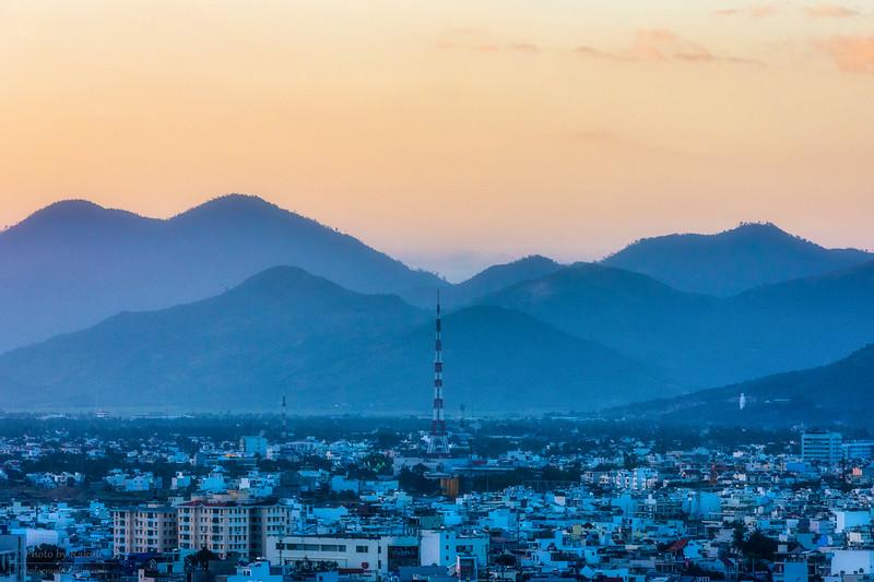 Layers of Nha Trang twilight
