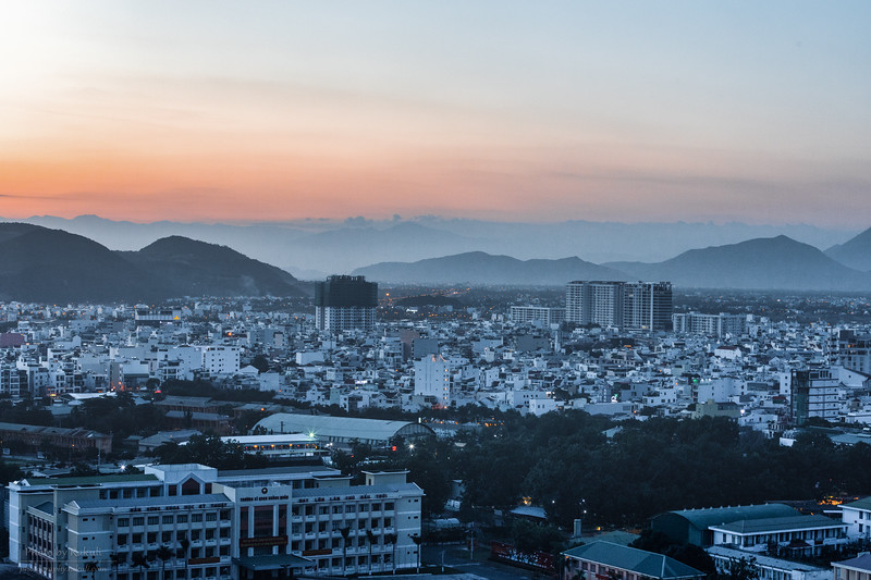 Dusk over Nha Trang