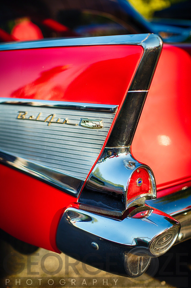Chevy Bel Air Tail Fin