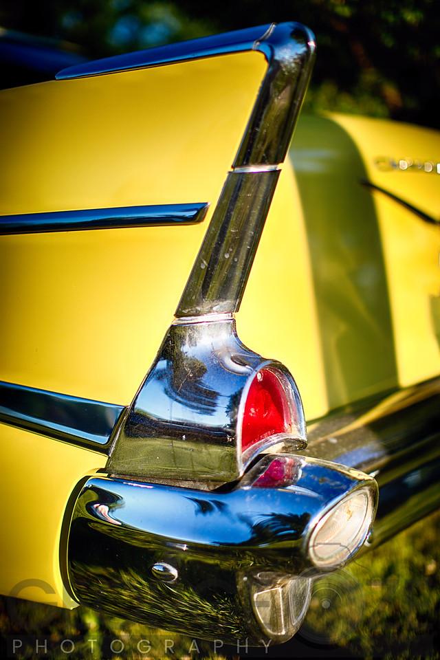 Classic Chevrolet Automobile Tail Fin