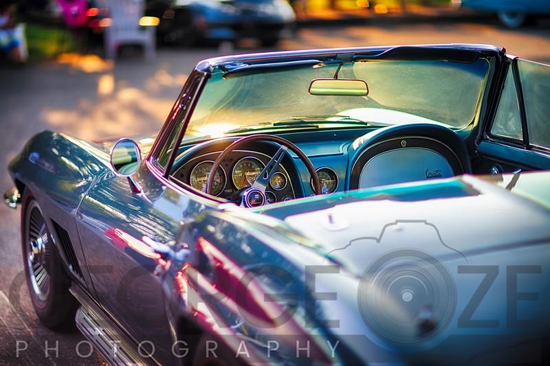 Classic Corvette Ready for a Cruise