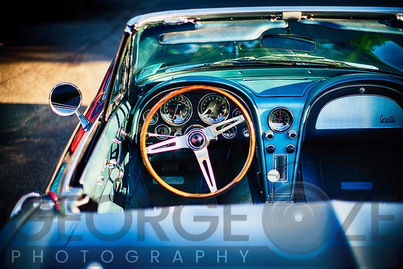 Sophisticated American Classic Car Interior