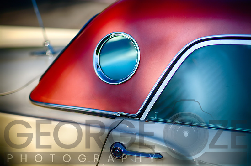 Classic Ford Thunderbird  Hardtop Detail with a Porthole Window