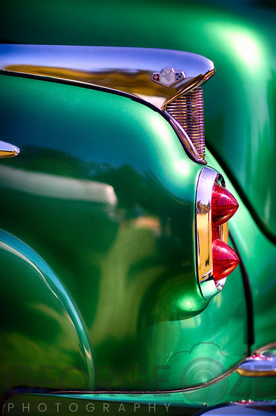 Buick Roadmaster Tail Light Close Up
