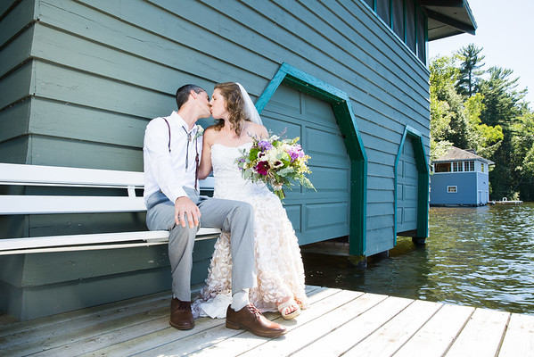 Northwoods Wedding in Sayner, WI by Fornear Photo