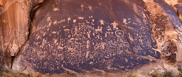 Newspaper Rock Petroglyphs, Utah