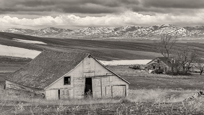 Farm, Rockland Valley, Idaho