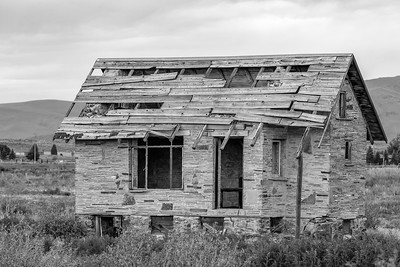 Stone House on the Prairie, Arco, Idaho