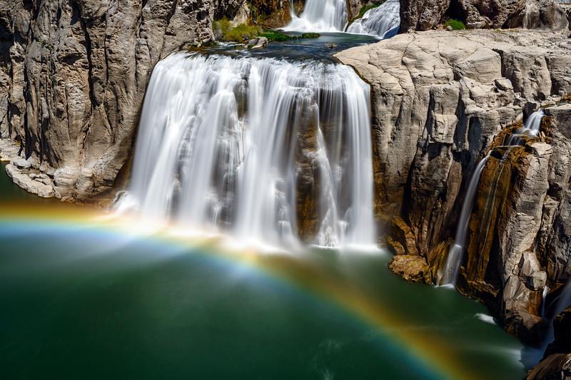 The Bridal Veil at Shoshone Falls, Idaho