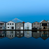 Boathouses on the Columbia River