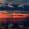 Great Salt Lake Sunset, Utah