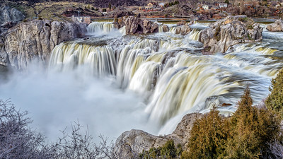 Shoshone Falls, Idaho, March 2017 - 1