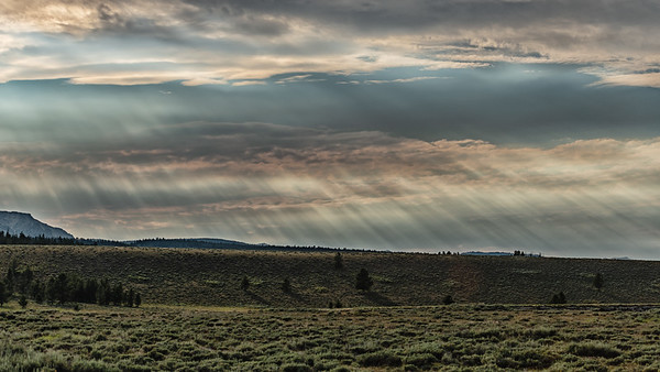 Afternoon Sunrays, Stanley, Idaho