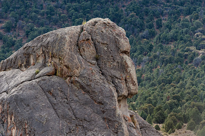 Monkey Face Rock, City of Rocks, Idaho