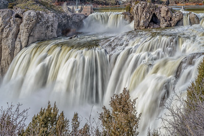 Shoshone Falls, Idaho, March 2017 - 2
