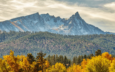 Trapper Peak, Montana in the Fall