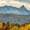 Trapper Peak, Montana in the Fall