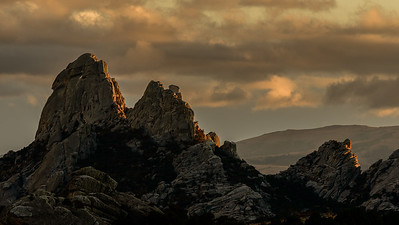 City of Rocks Sunset, Idaho