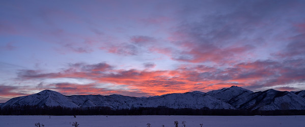 Sunset, Hailey, Idaho