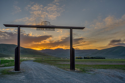 Cove Ranch Sunrise, Idaho