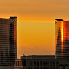 Wynn and Encore at Sunset