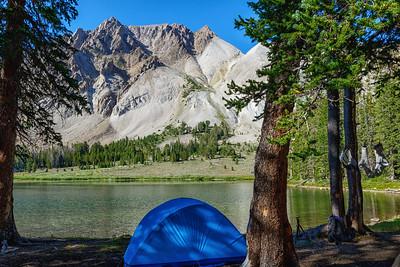 Chamberlain Basin - Castle Peak Camp
