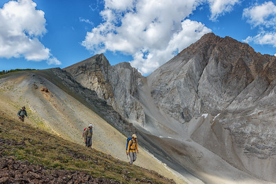 Hiking the Castle Divide Trail, White Clouds Wilderness, Idaho